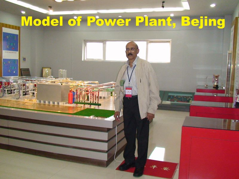 Geothermal Power Plant Model Model of Power Plant Bejing Jpg